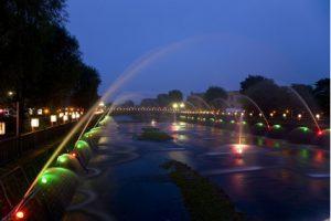 清流千歳川噴水フェスティバル・清流千歳川あんどんまつり