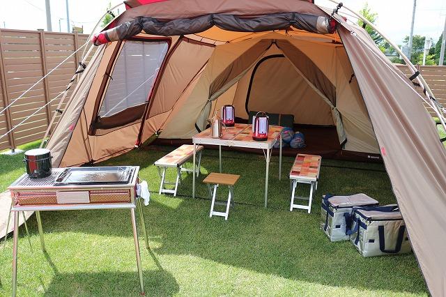 翼の杜オートキャンプサイトで「手ぶらキャンプ」ができます